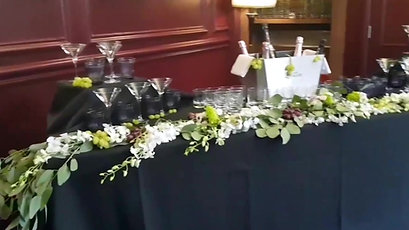 Orchid Table Runner