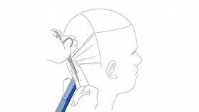 Férfi hajvágó fogásredszer vetítés -  B3