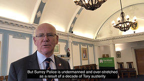 SURREY POLICE - UNDERMINED AND OVERSTRETCHED