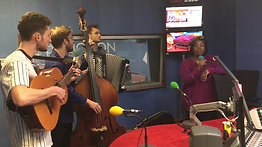 Jane Eyre band perform an arrangement of Orphan Child for BBC Northampton