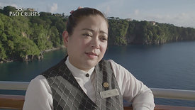 P&O Cruises - 60 Sec Stories, Bar Steward Michelle - Director & Video Editor