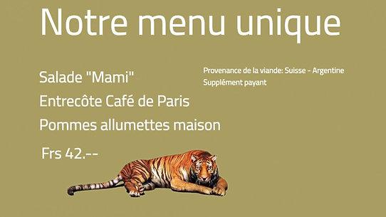 CAFE DE PARIS CHEZ BOUBIER