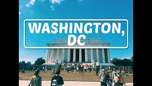 A Glimpse of Washington, DC in 4k