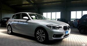 BMW 118i silber