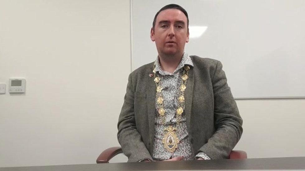Mike_Cubbard_Mayor_Galway_Umbrella_Eile