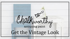 Classic Vintage Look with Chalkworthy™ Antiquing Paint