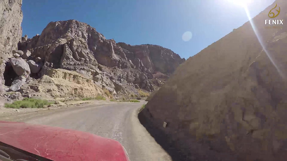 Route from Nueva Atacama to Fenix Gold Project