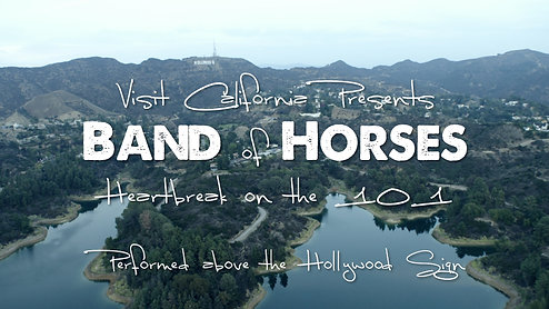 "Band Of Horses ""Heartbreak On The 101"" (Live at the Hollywood Sign)"