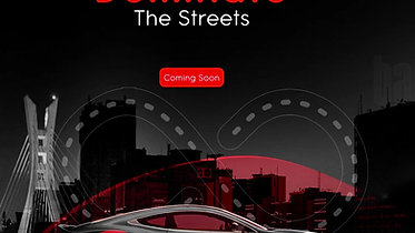 Dominate the Streets Social Ad