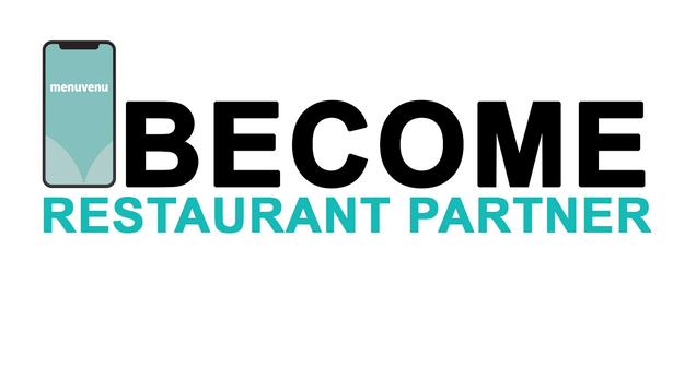 Become a menuvenu.com Partner