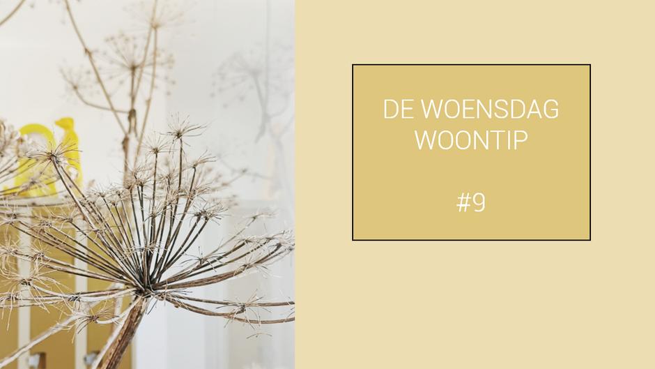 DE WOENSDAG WOONTIP