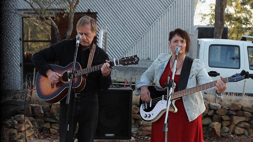 Angie & the Doc at Chewton Bushlands