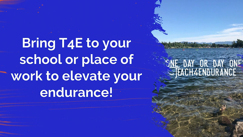 Bring T4E to Your School