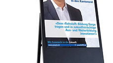Wahlkampfunterstützung im Zeitalter von Digital Signage!