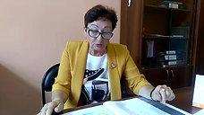 Выступление ответственного секретаря приемной комиссии Егоровой Н.И.