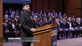Year Up NCR January 2020 Student Speaker- David Gomez