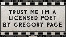 Trust Me I'm A Licensed Poet
