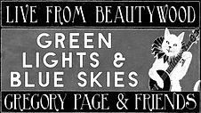 Green Lights & Blue Skies
