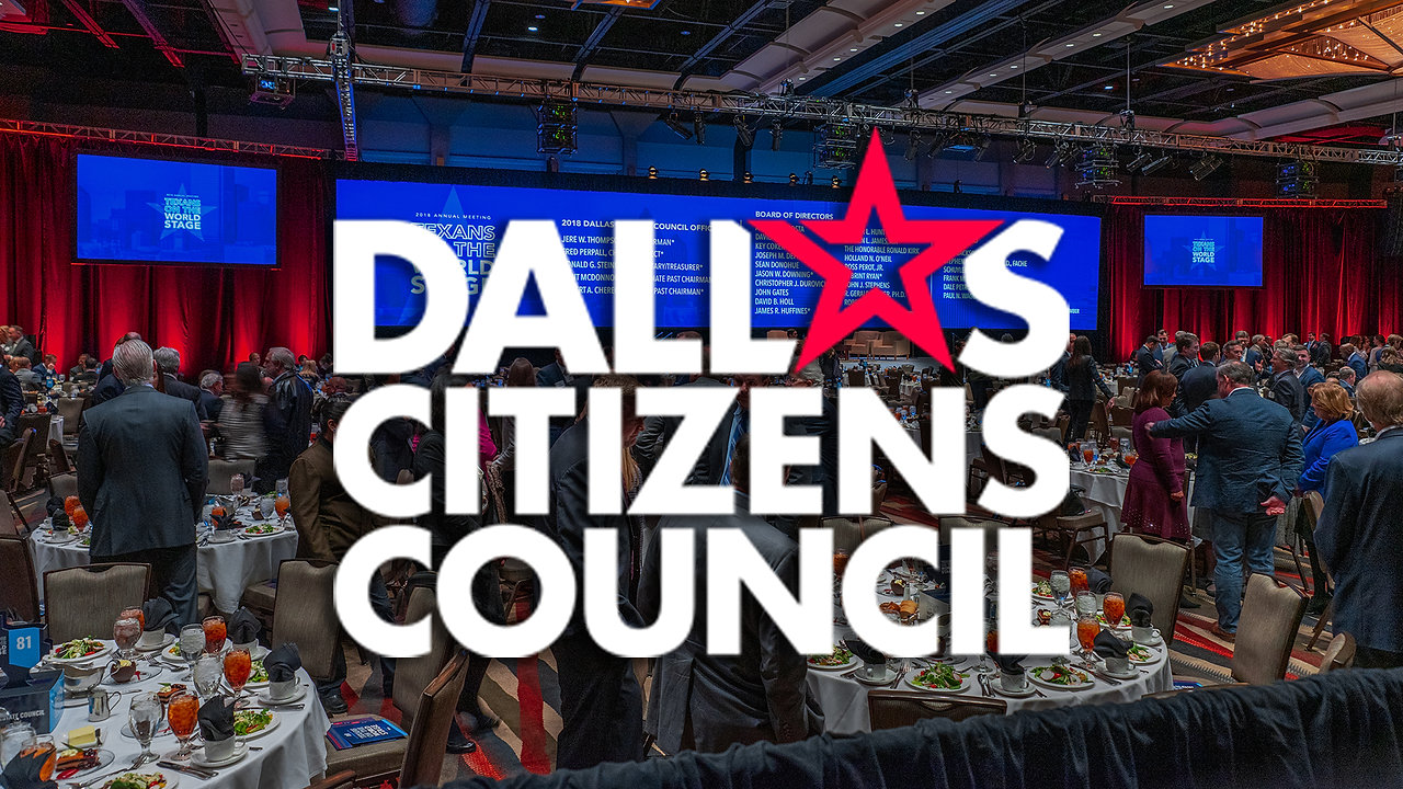 Corporate Event Video | Corporate Non-Profit Fundraiser Luncheon Highlights - Dallas Citizen's Council at Omni Dallas