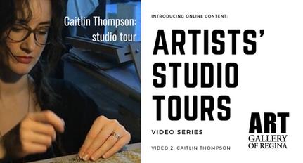 Caitlin Thompson: studio tour