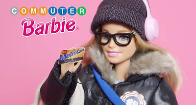 Commuter Barbie Commercial Parody Sketch