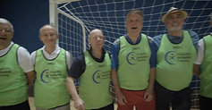 Making Social Connections Through Walking Football
