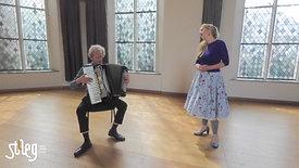 stAeg LIVE: Klaartje van Veldhoven (zang) en Bert van den Brink (accordeon)