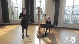 stAeg LIVE: Judith Jamin (harp) en Francien Post (dwarsfluit)