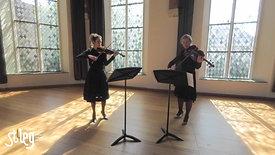 stAeg LIVE: Melanie van Overbeeke (altviool) en Anne van Eck (viool)
