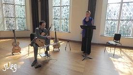 stAeg LIVE: Henriette Feith (zang) en Izhar Elias (gitaar)