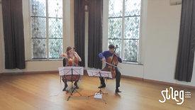 stAeg LIVE: Nuala McKenna (cello) en Johan van Iersel (cello)