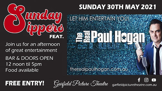 PROMO 'Sunday Sippers' Feat. The REAL Paul Hogan