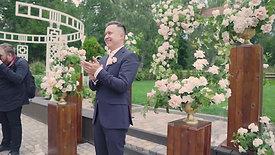 Выездная церемония Виктор и Владислава 15 августа 2020