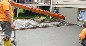 Concrete Patio Part 3
