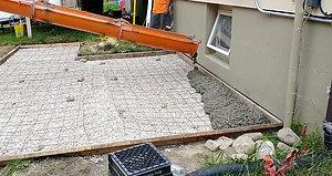 Concrete Patio Part 1