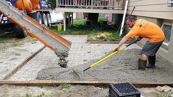 Concrete Patio Part 2