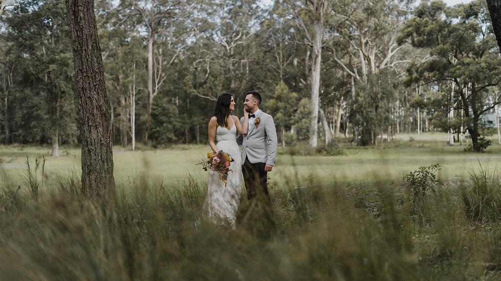 Christie + Joel | Wedding film | Worrowing Jervis Bay