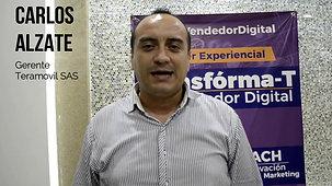 Testimonio : Carlos Alzate
