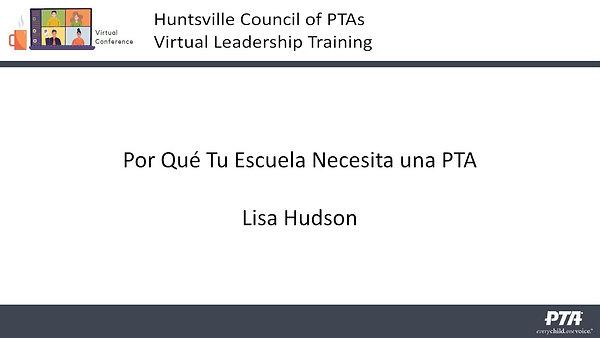 Why PTA en Espanol
