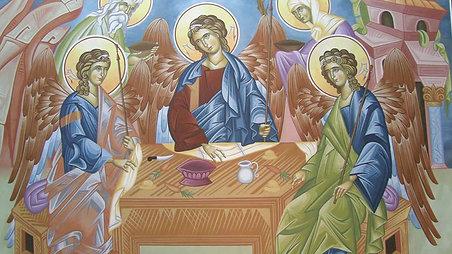 Ο Όσιος Πορφύριος απαγγέλει το Σύμβολο της Πίστεως.