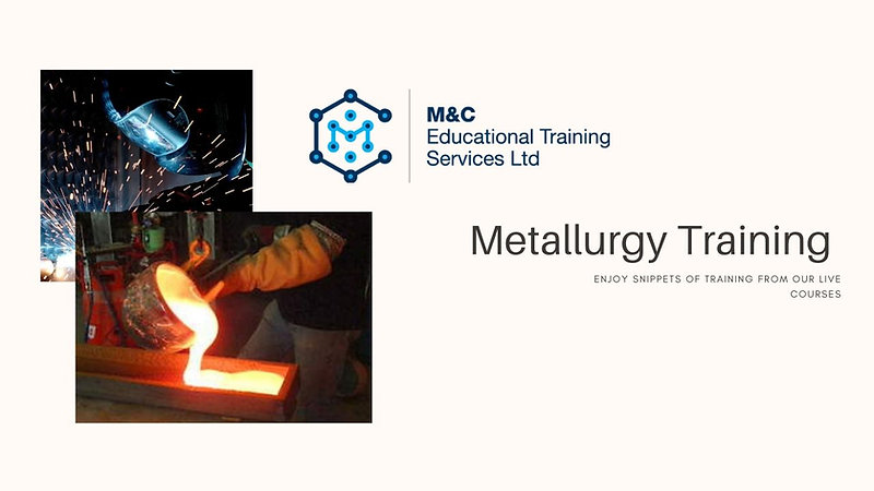 Metallurgy Training