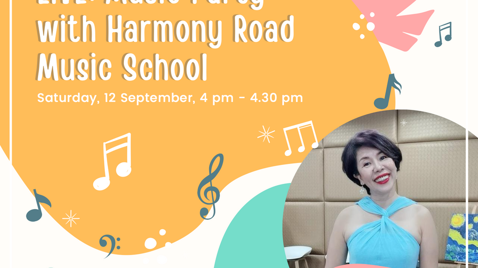 Facebook LIVE: Music Party with Harmony Road Music School