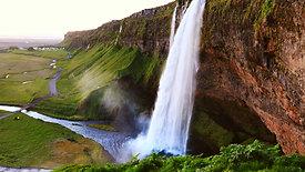 Seljalandsfoss waterfall - Iceland
