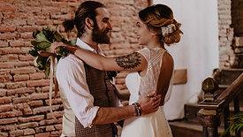 Tina + Alexandre { Elopement }