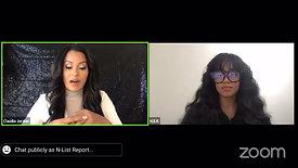 Claudia Jordan Interviewing H.E.R for 2020 Soul Train Awards
