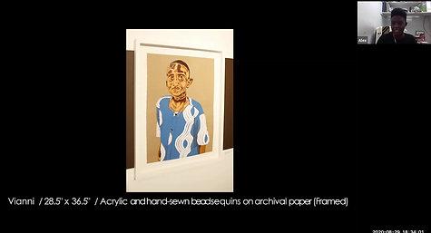 202008DR Collectors Studio Visit Alexandra Antoine