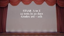 Be A STAAR Teacher