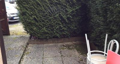 Terrasse avant ça rénovation