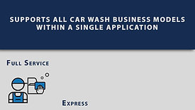 Supports All Car Wash Business Models