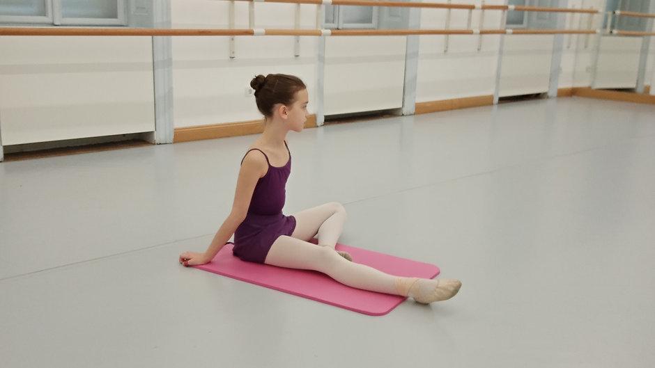 Ballett - training für zuhause